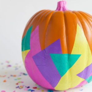 diy-tissue-covered-pumpkin
